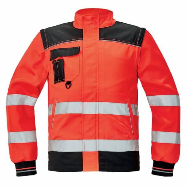 Knoxfield HV bluza 2 u 1 crvena
