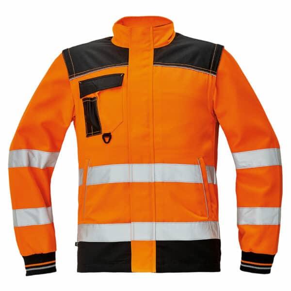 Knoxfield HV bluza 2 u 1 narandžasta