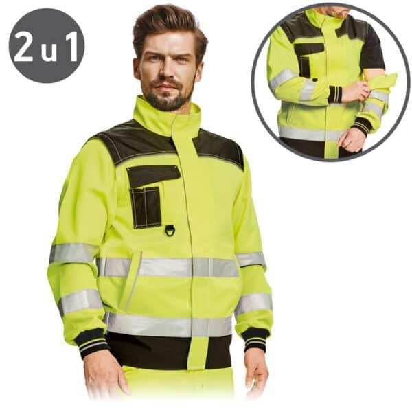 Knoxfield HV bluza 2 u 1 žuta