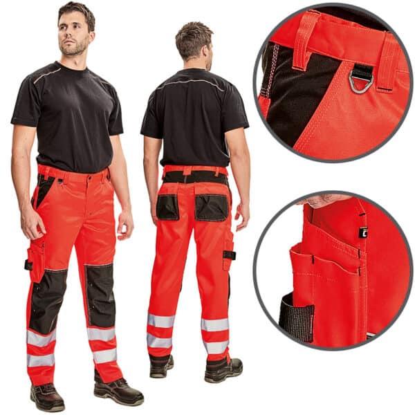 Knoxfield HV pantalone crvene