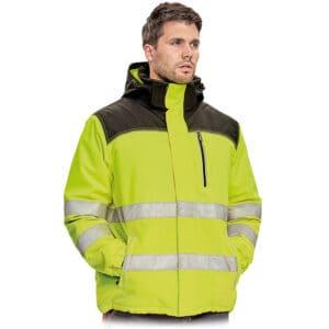 Knoxfield HV zimska jakna žuta