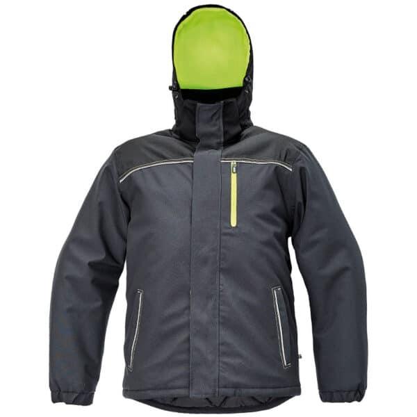 Knoxfield zimska jakna žuta