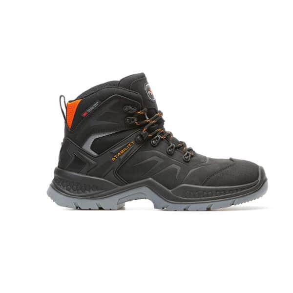 Everest black zaštitne cipele